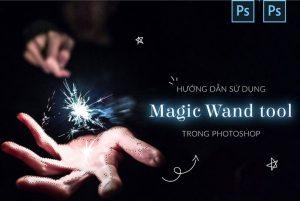 cách sử dụng magic wand tool trong pts